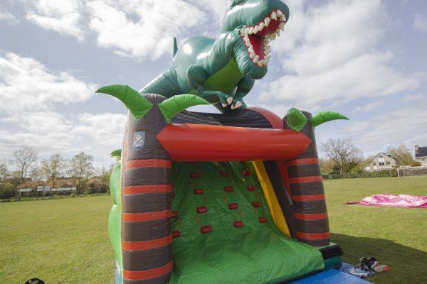 Jumppret Amersfoort Springkussen Verhuur Dinosaurus 1